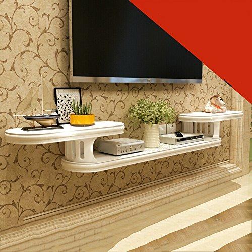 Wandplank muur opknoping TV kabinet Set Top Box plank scheidingswand eenvoudige en moderne slaapkamer woonkamer 162cm\182cm\202cm