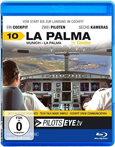 PilotsEYE.tv | La Palma - Blu-Ray: Munich - La Palma A321 /Cockpitflight Condor Airbus A321-200  Plus Inselrundflug