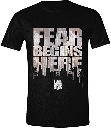 Fear The Walking Dead - T-Shirt Fear Begins Here (M)