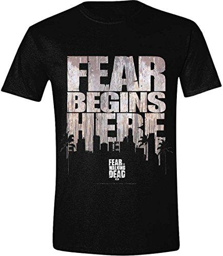 Fear The Walking Dead - T-Shirt Fear Begins Here (M)