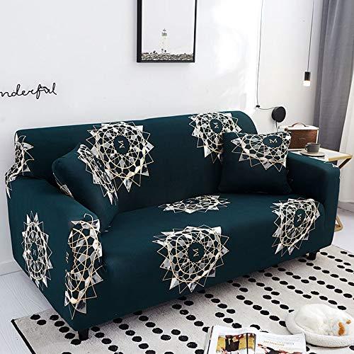 ASCV Funda de sofá Asiento elástico Fundas de sofá sillón Muebles Fundas sofá Toalla 1/2/3/4 plazas A8 1 Plaza