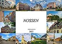 Nossen Impressionen (Wandkalender 2022 DIN A3 quer): Zu Besuch in der Stadt Nossen (Monatskalender, 14 Seiten )