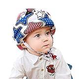Sombrero de seguridad para bebés y niños pequeños para gatear cascos anticolisiones, protector de cabeza ajustable para niños y niñas aprenden a caminar Estilo #2 Talla:talla única