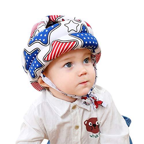 Babyhelm Baby Kopfschutz Schutzhelm Schutzhut Kopfschutzmütze Kinder Verstellbarer Helme Säuglingskleinkind für Kleinkinder Lerne laufen