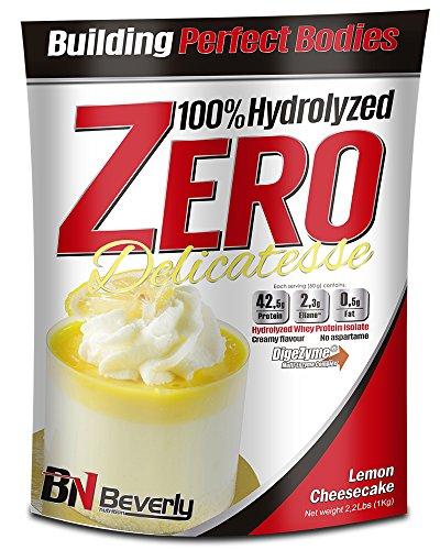 Beverly Nutrition Delicatesse Hydrolyzed Zero Proteína Hidrolizada Sabor Tarta de Queso Limón - 1000 gr