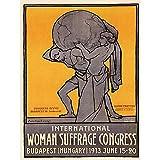 Wee Blue Coo Political Suffrage Women Suffragette Budapest