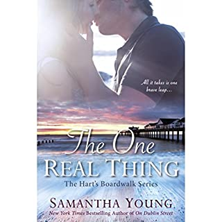 The One Real Thing     The Hart's Boardwalk Series              By:                                                                                                                                 Samantha Young                               Narrated by:                                                                                                                                 Tad Branson,                                                                                        Angelica Lee                      Length: 12 hrs and 28 mins     292 ratings     Overall 4.3