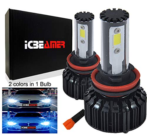 ICBEAMER Color:Purple Universal USB Interface Plug-in Miniature Night Light LED Car Interior Trunk Ambient Atmosphere