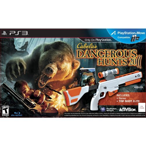 Activision Cabela's Dangerous Hunts 2011, PS3