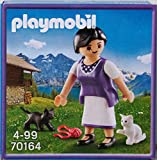 PLAYMOBIL 70164 Chica con Gatos Milka