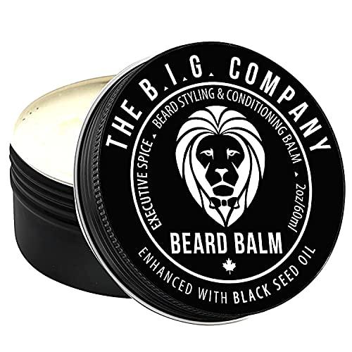 The B.I.G. Company - Luxury Beard Balm for Men - Beard...