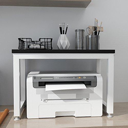 Aufbewahren & Ordnen BOBE Shop- Desktop-Mehrzweck-Lagerregal, Drucker-Rack, Scanner Rack, Telefonhalter, Bambus-Lagerregal, Büro Haushalt Lagerregal (Farbe : #2)