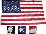 6ft x 10ft Superstream Sewn Nylon American Flag
