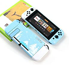TwiHill Snowflake Protective Shell é adequado para Nintendo Switch, Acessórios Nintendo Switch, Casco protetor, boné de ci...