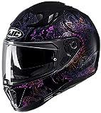 HJC Helmets Unisex– Erwachsene Nc Motorrad Helm, Schwarz, XS
