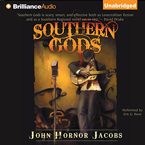 Southern Gods audiobook cover art