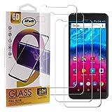 Guran 4 Paquete Cristal Templado Protector de Pantalla para Archos Core 55S Smartphone 9H Dureza Anti-Ara?azos Alta Definicion Transparente Película