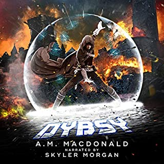 Dybsy audiobook cover art
