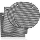 Salvamanteles Silicona: 4 pc. Tapetes de Silicona para Hornear Multiuso –...