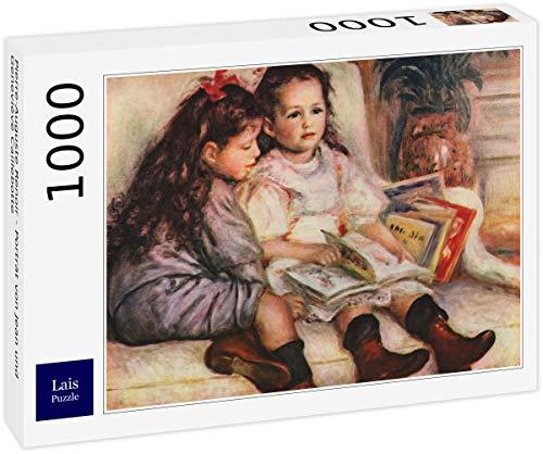 Lais Puzzle Pierre-Auguste Renoir - Ritratto di Jean e Geneviève Caillebotte 1000 Pezzi