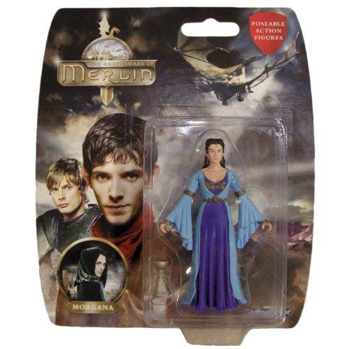 Figurine Des Aventures De Merlin, Morgane.