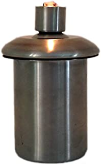 Table Top Tiki Torch or Firepot Stainless Steel Refillable Insert Canister