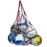 Roxan Football Carry net (12 to 16 Ball) Color May Vary   Nylon