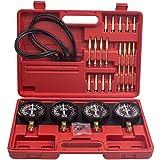 maXpeedingrods Kit de Dépressiomètre synchronisateur de carburateur, Testeur de Synchronisation, Jauges à Vide de Synchronisation de Carburateur