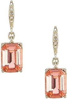 Givenchy Peach Drop Earrings