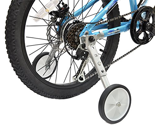CHILDHOOD Bicycle Training Wheels Fits 18 to 22 inch Kids Variable Bike (Training Wheels)