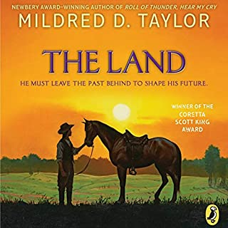 The Land audiobook cover art