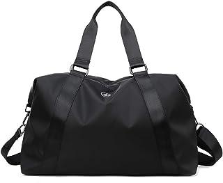 Gym Duffel Bag, lesgos Waterproof Portable Swim Training Bag, Compact Sling Crossbody Travel Carry On Travel Luggage Bag f...