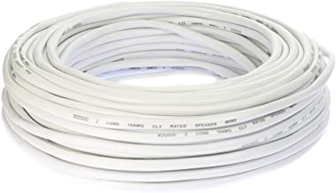 Voodoo in Wall CL3 Rated Speaker Wire True spec 100FT (16 AWG)