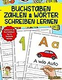 Buchstaben, Zahlen Und Wörter Sc...