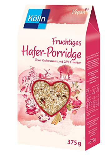 Kölln Fruchtiges Hafer-Porridge, 6er Pack (6 x 375g)
