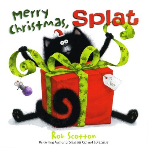 Merry Christmas, Splat audiobook cover art