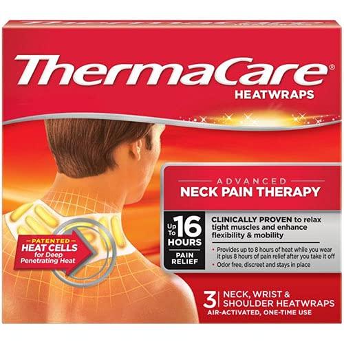ThermaCare flexible Anwendung Wärmeauflagen für Nacken, Schulter, Rücken oder Lenden – 3 Stück pro Packung