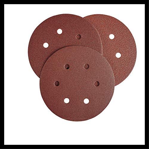 Einhell Ponceuse excentrique pneumatique TC-PE 150 (plateau de 150 mm de diamètre, levier de réglage de vitesse en continu, 6 papiers abrasifs, raccord, clé de serrage)