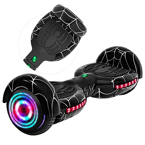Rawrr Hoverboard Self Balancing Electric Scooter with LED Wheel Lights and Bluetooth...
