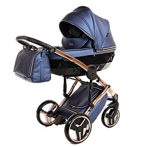 Sistema de viaje 3 en 1, silla de paseo, carrito con capazo...