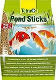Tetra Pond Sticks 25 L - Alimento para peces de estanque, para peces...