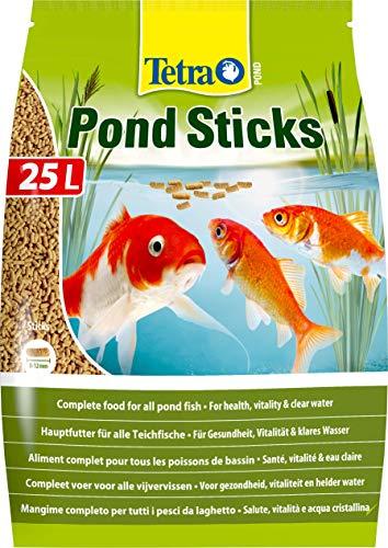 Lascure Delights Pond Sticks Mangime per Pesci, Multicolore, Unica, 25000 unità