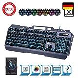 KLIM Lightning – NEU 2020 – Hybrid Halbmechanische Tastatur QWERTZ