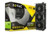 ZOTAC GeForce GTX 1080 8GB AMP! Extreme Grafikkarte (NVIDIA GTX 1080, 8GB GDDR5X, 256bit, Base-Takt 1771 MHz, Boost-Takt 1911 MHz, 10,8 GHz)