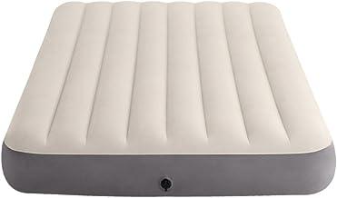 Intex 64102 - Colchón hinchable  Dura-Beam Standard Deluxe Single-High - 137 x 191 x 25 cm