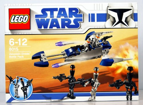 LEGO - 8015 - Jeu de construction - Star Wars - Assassin Droids Battle Pack