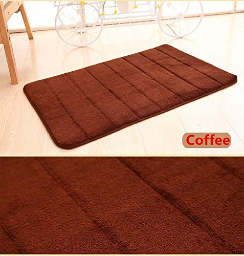 ADSIKOOJF 40 * 60cm badmat badkamer tapijt tapijt koraal fleece geheugen schuim badkamer mat keuken deur vloer wasbaar