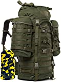 Wisport Reiserucksack groß Damen Herren I Traveller I Travel Pack I Wanderrucksack olivgrün I...