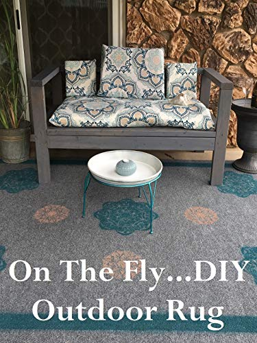 'On The Fly - DIY' Outdoor Rug