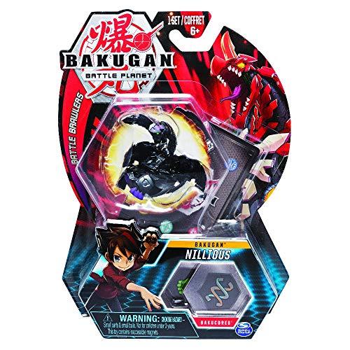 Bakugan 6054796 - Valigetta portaoggetti con Pyrus Dragonoid Bakugan, colore: Rosso